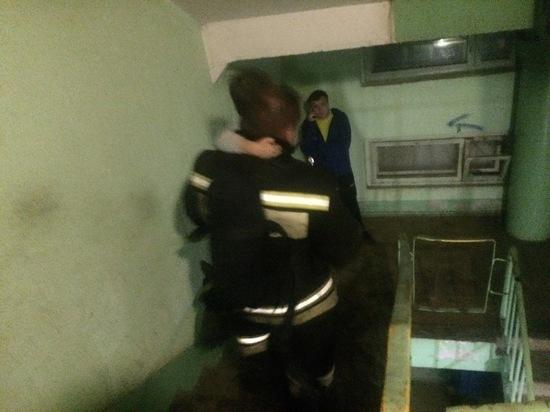 Пожарные Собинского гарнизона спасли двоих детей