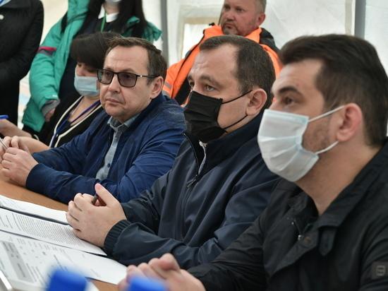 По поручению Губернатора жителям Рузы, оставшимся без домов, будет выплачено по 2 миллиона рублей