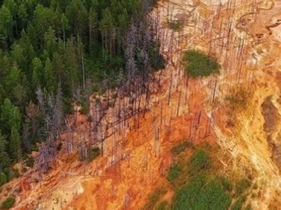 В сети появилось фото «фантастических» кислотных рек на Урале