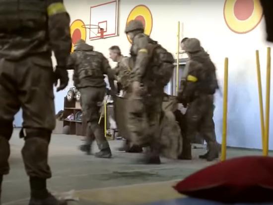 Трое украинских диверсантов насмерть подорвались в ДНР