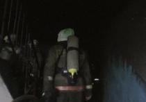 Ночью из загоревшейся в Кемерове девятиэтажки эвакуировали девять человек