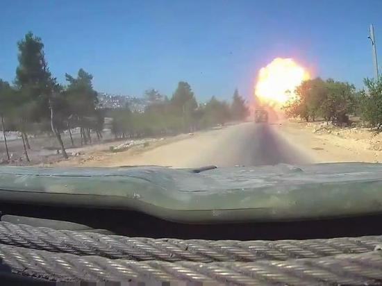 ВКС РФ нанесли авиаудары по объектам в Сирии в ответ на подрыв колонны