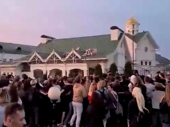 В белорусской столице задержали около 200 участников стихийной акции солидарности