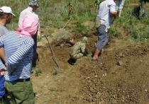 Под Невинномысском нашли подбитый в годы ВОВ советский истребитель