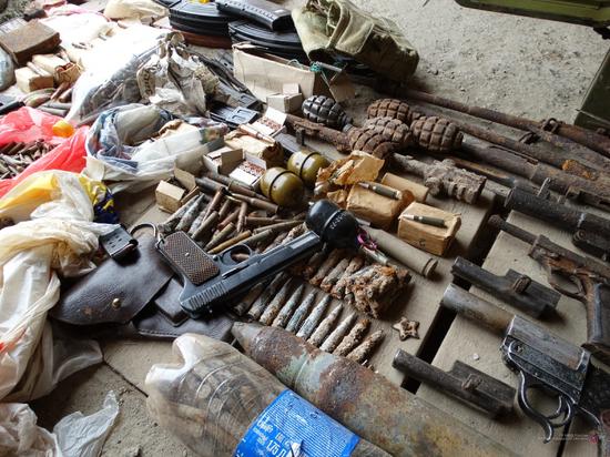 У волгоградца стражи порядка нашли арсенал старого оружия