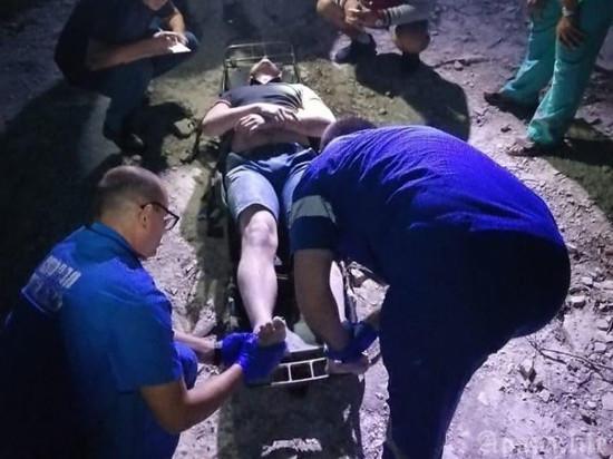 Северянин упал со скалы в Анапе