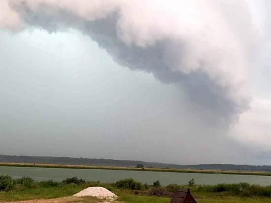 В Спасском районе продолжают устранять последствия урагана