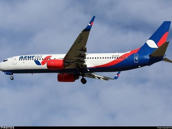 Авиакомпания «Azur Air» запускает чартерные рейсы из Москвы в Абакан