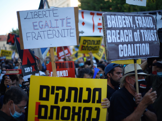Рейтинг Нетаньяху вновь упал ниже 50%