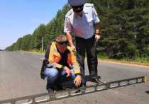 Дорогу в Шахунском районе отремонтировали по нацпроекту БКАД