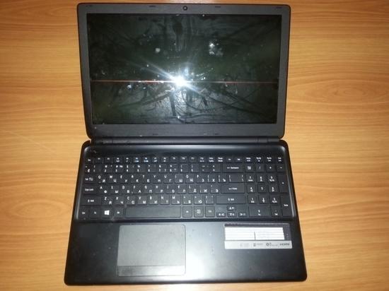В калмыцком поселке задержали вора ноутбука