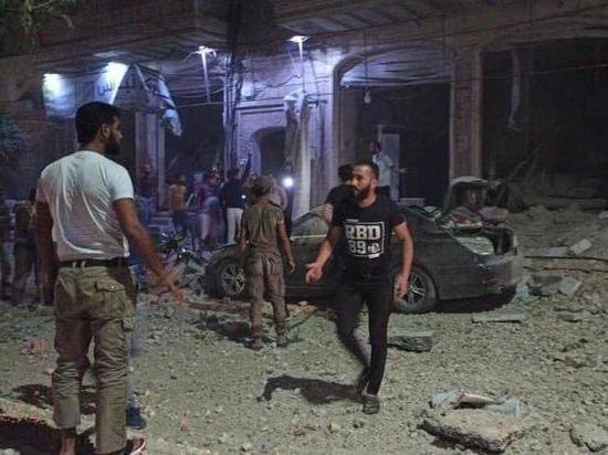 2cd0bf9655cc279c27aafd05e1045fdf - По городу Эль-Баб на севере Сирии нанесен авиаудар