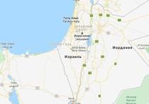 Карты Google перестали показывать Палестину