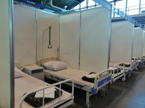 Из госпиталя Ленэкспо вывезли последних пациентов