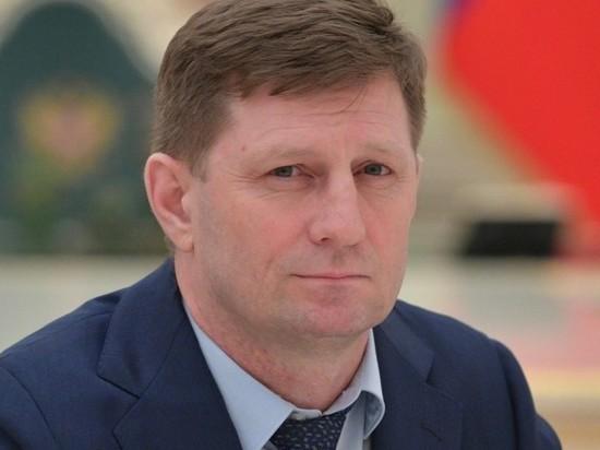Мосгорсуд оставил под арестом губернатора Хабаровского края Фургала