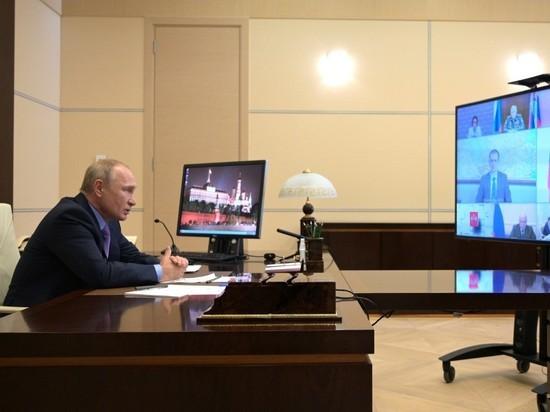 Путин: глубина вызванного пандемией кризиса оказалась очень серьезной - политика