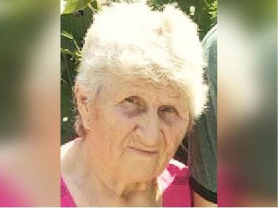 Пропавшая в Ростовской области 80-летняя женщина найдена мертвой