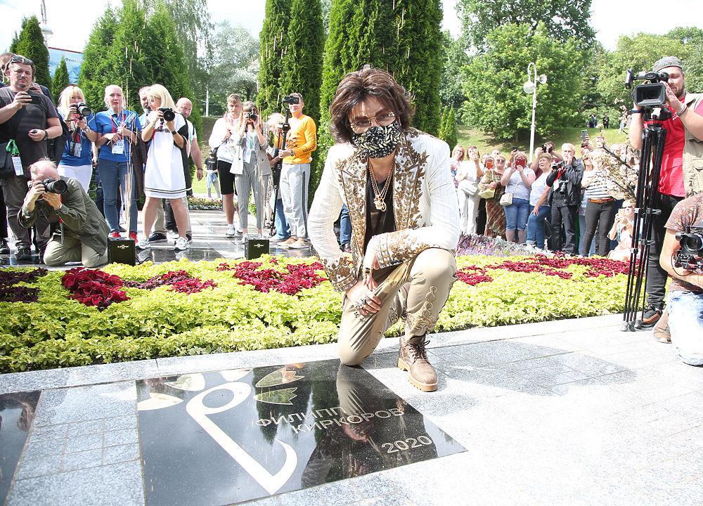 Филипп Киркоров получил именную звезду: фотовосторг поп-короля