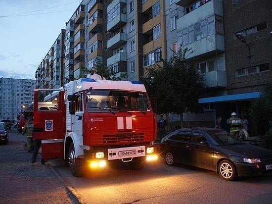 Житель Хакасии поджёг матрас в своей квартире и попал в больницу