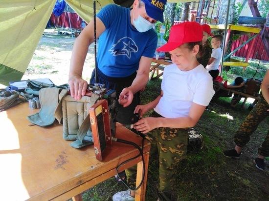 Юные защитники Отечества отправляются в оборонно-спортивные лагеря
