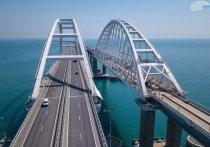 За два года по Крымскому мосту проехало 10 млн машин