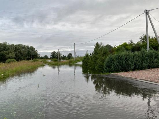 Но угроза почти миновала, сброса воды в местном водохранилище пока не потребовалось