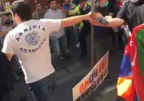 Азербайджанцы и армяне устроили разборки на улицах Лондона