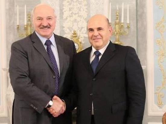 Лукашенко и Мишустин обменялись мнением об интеграции