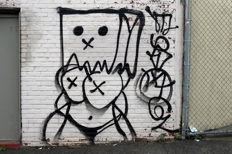 Атакованный коронавирусом Нью-Йорк сдался под натиском граффити