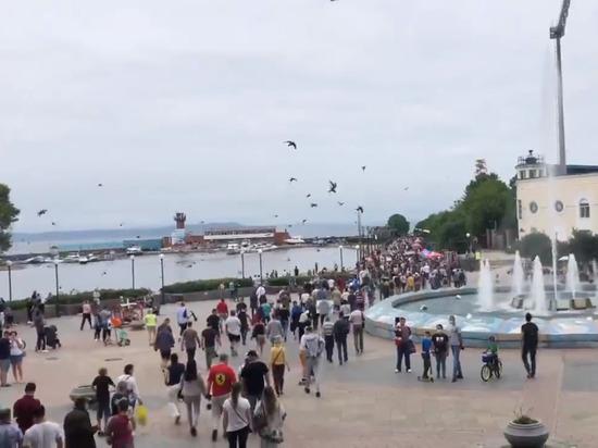 Жители Владивостока провели акцию в поддержку Фургала