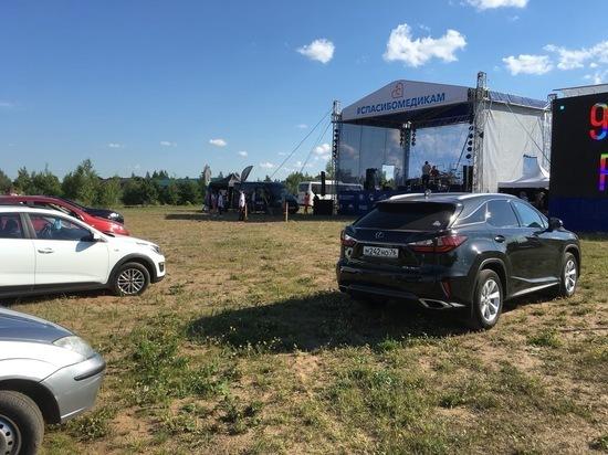 600 тысяч рублей собрали на концерте в честь медиков под Псковом