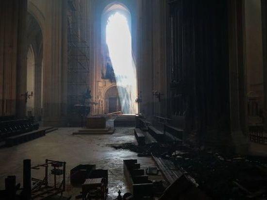 Французский фонд наследия соберет пожертвования на реставрацию собора в Нанте