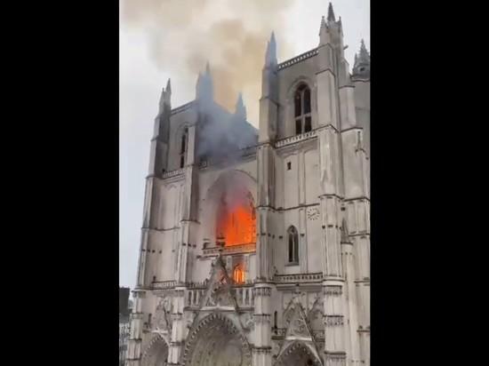 В Нанте задержан подозреваемый в поджоге собора
