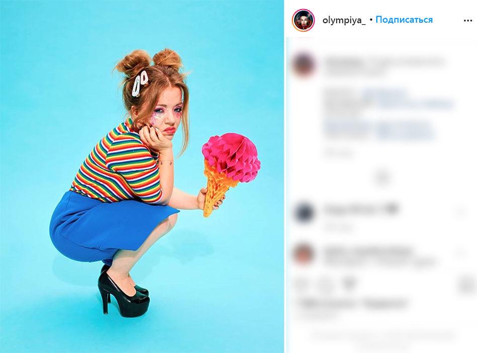 Олимпия Ивлева из Little Big отметила 30-летие: свежие фото певицы