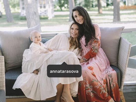 Девушка являлась крестной матерью дочери Анны Мышинской