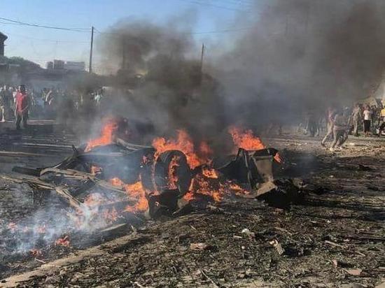 Боевики подорвали начиненный взрывчаткой грузовик на севере Сирии