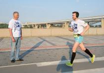 Сибиряк пробежал марафон к юбилею Олимпиады-80