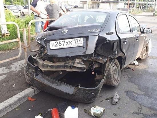 В Ленинском районе Челябинска произошло ДТП с пострадавшими