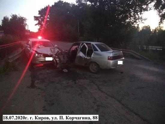 В Кирове в двух ДТП с пьяными водителями пострадали 8 человек