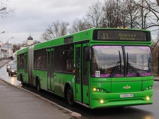 Бесплатный автобус пустят из Пскова до Выбут в День города