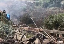 Прокуратура Ингушетии проверяет причины пожара на закрытом мусорном полигоне