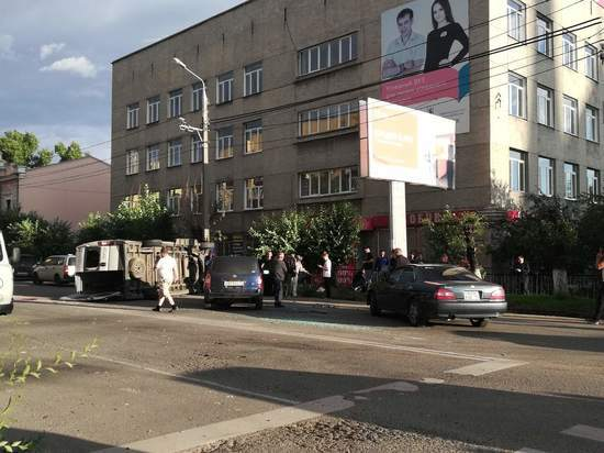 Несколько человек попали в больницу после ДТП с маршруткой в Чите
