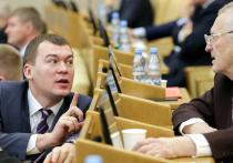 «Неправильного» губернатора - жириновца в Хабаровске сменил «правильный»