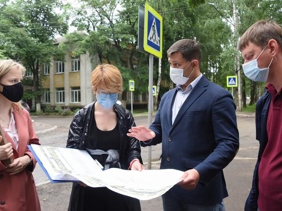 В Вологде начались работы  по благоустройству бульвара по ул. Пирогова