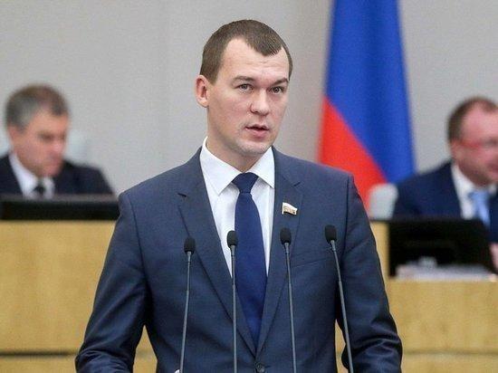 Нового главу Хабаровского края представили региональным властям