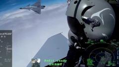 Китайские ВВС показали воздушный бой из кабины истребителя J-10