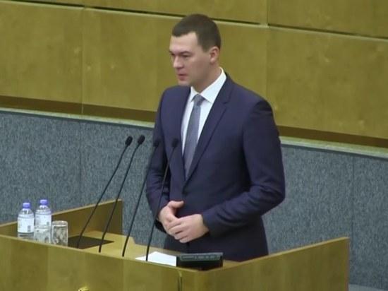 Дегтярев раскрыл, какой документ изучал при полете в Хабаровск