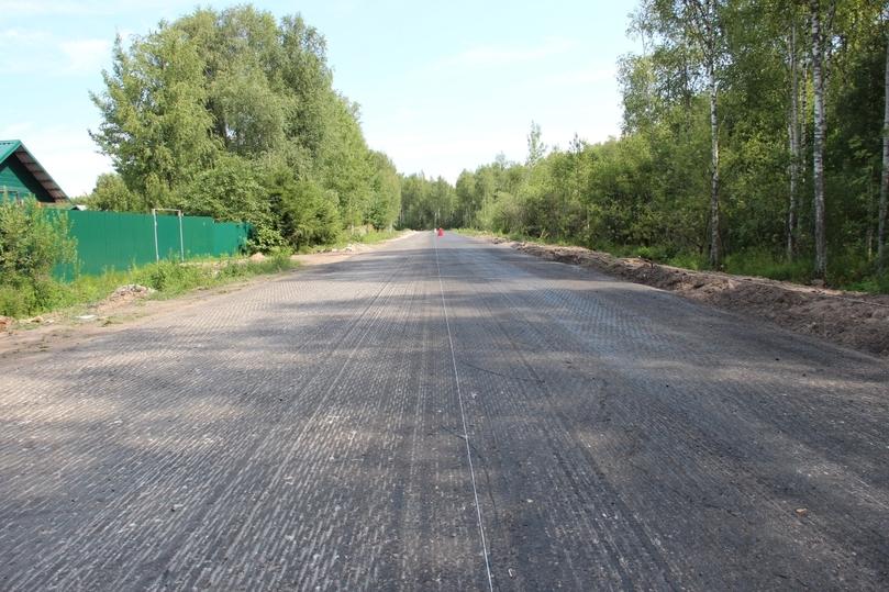 Начали асфальтировать дорогу к псковским дачам, фото-2