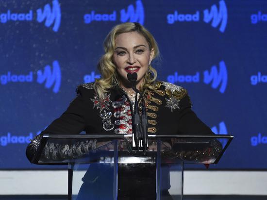 Мадонна похвасталась гей-штрафом в России в миллион долларов