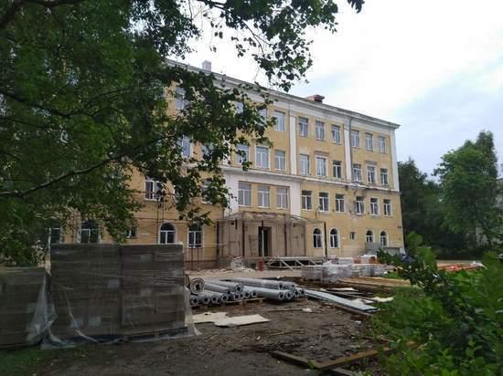 На 65% выполнен капитальный ремонт школы №11 в Вологде